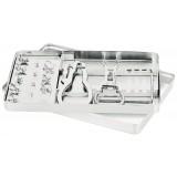 Set Instrumentos Para Diques Asa Dental