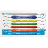 Set De 7 Curetas Gracey Asa Dental