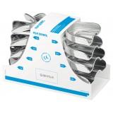 Set 8 Cubetas Perma Lock High Acero Inox. Asa Dental