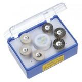 Set Pulido Pasta Diamante+6 Cepillos, Para Metal Ceramica Y Composite