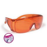 Gafas Polimerizacion Naranjas