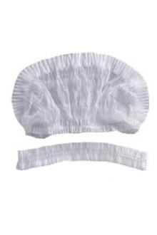 Cubre Cabezas Acordeon Blanco