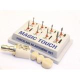 Kit Magic Touch 8 Fresas Para Tratamiento De Protesis En Ceramica