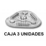 Placas Reposicion Articulador Technoflux Modelo 5000 (caja 3 Uni)