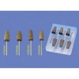Puntas grandes de silicona para resinas acrílicas (6 unidades) [MESTRA]