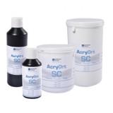 Resina autopolimerizable Acry Ort SC (Self-curing) Polvo/Líquido (Monomero/Polimero) [RUTHINIUM]