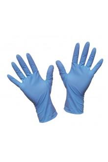 Guantes de Nitrilo Azul sin Polvo [SINTOMED]